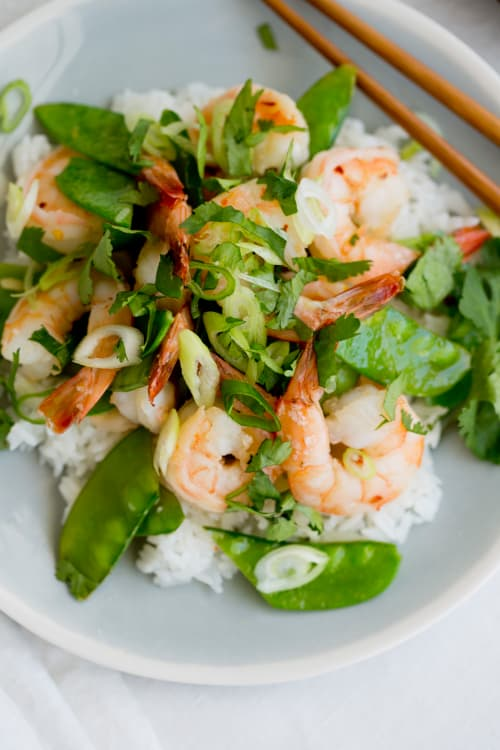 Recipe Honey Garlic Shrimp Kitchn