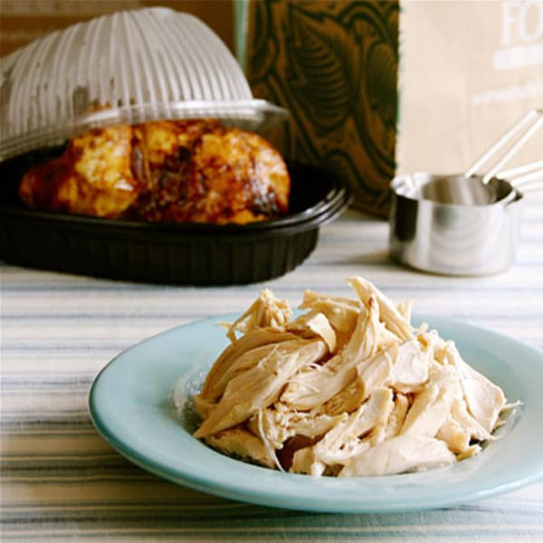 One Woman One Rotisserie Chicken And Five Days A Menu Plan Kitchn