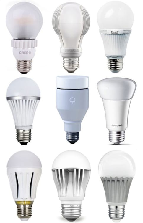 Best Of The Bulbs 2013 Led Light Bulb Buyers Guide Apartment Therapy