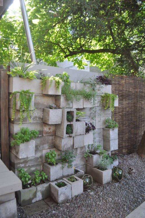 Budget Backyard budget backyard: 10 ways to use cheap concrete cinder blocks