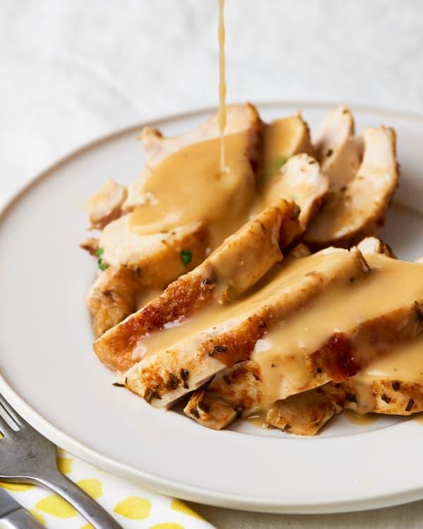 Turkey Gravy Recipe How To Make Turkey Gravy Kitchn