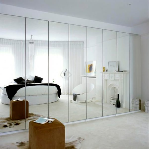 Beau Plagued With Dated Mirrored Walls? 5 Design Ideas To Make Them Work |  Apartment Therapy