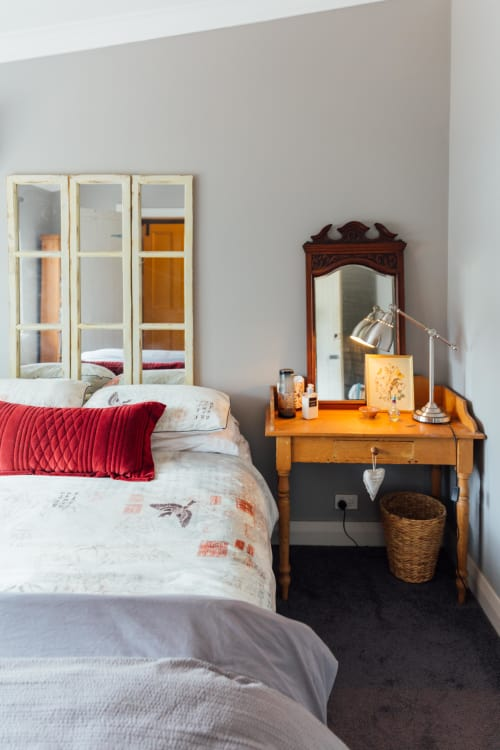 48 Decorating Ideas for That Wall Space Above Your Bed