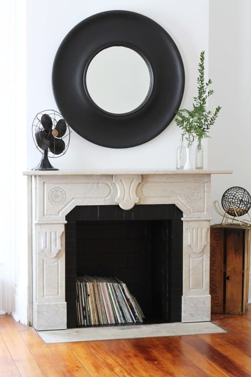 How To Clean A Brick Fireplace With Natural Cleaners Apartment Therapy