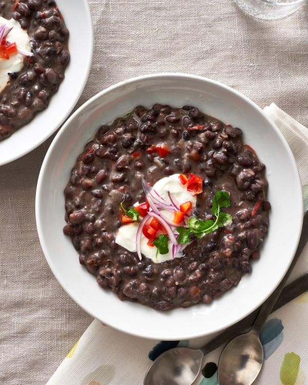 Cuban Black Bean Soup Kitchn