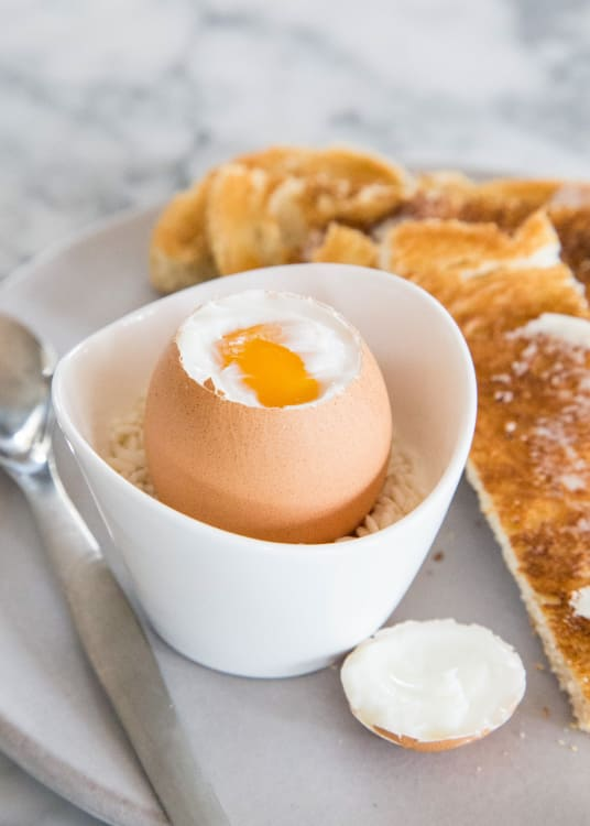 How To Make A Soft Boiled Egg Step By Step Recipe Kitchn