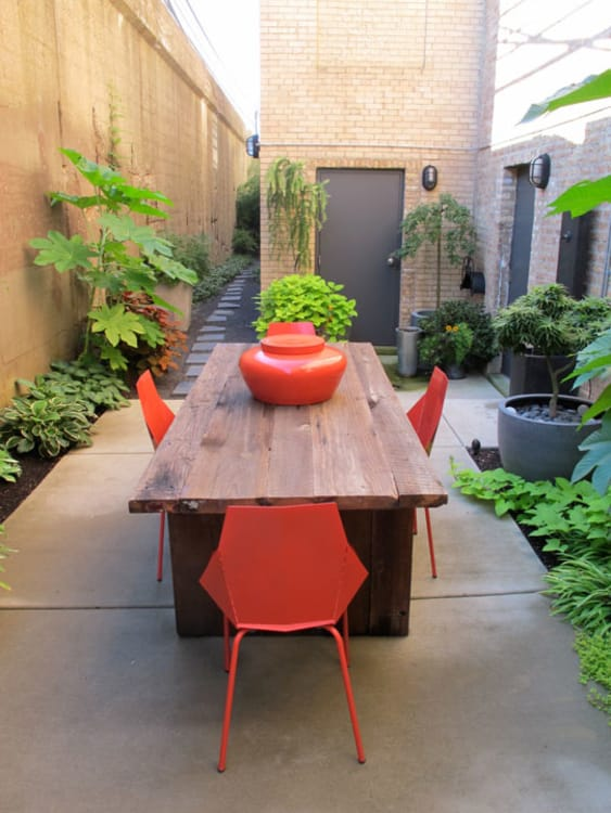 budget garden inspiration 5 modest and lovely courtyards