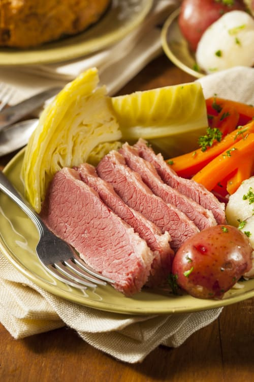 Here S Why We Eat Corned Beef On St Patrick S Day Kitchn