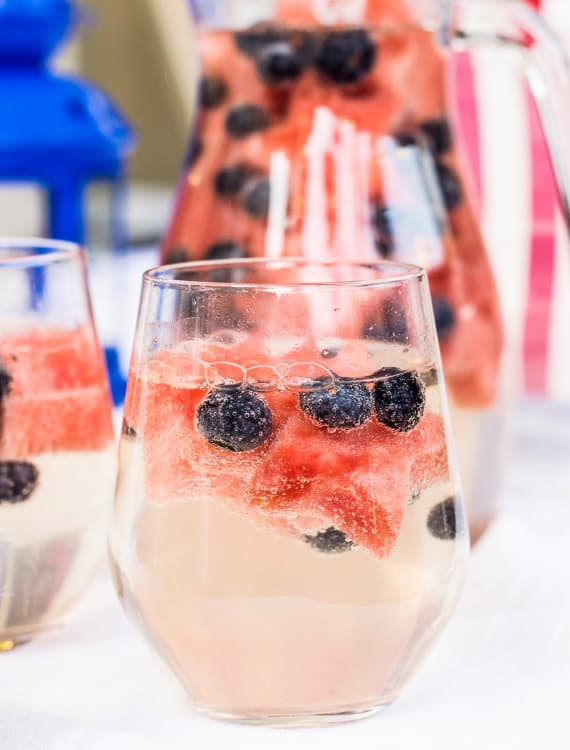 Recipe 4th Of July Wine Sparklers Kitchn