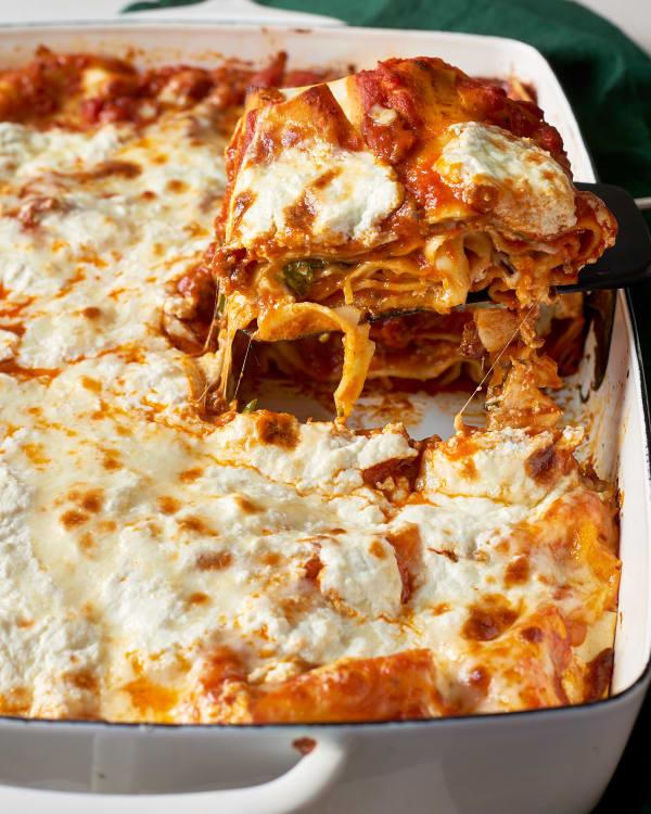 supermarket shortcut lasagna kitchn