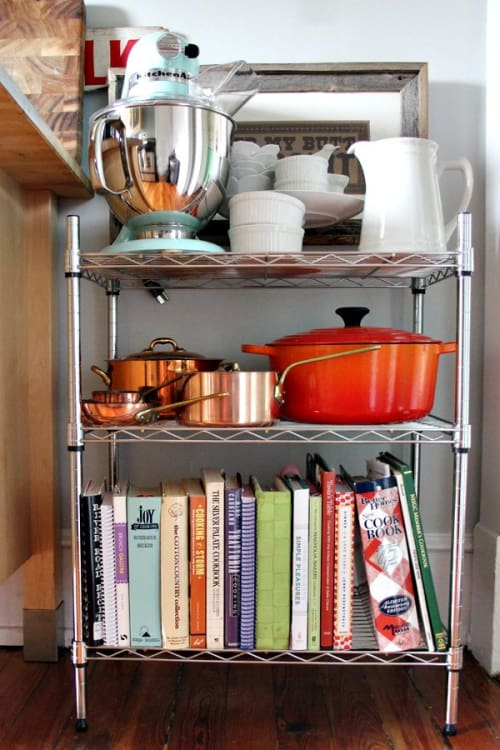 Wire Shelving With Drawers | 12 Smart Ways To Use Wire Shelves In Your Kitchen Kitchn