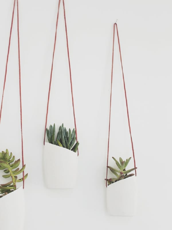 12 Diy Hanging Planters To Make Apartment Therapy
