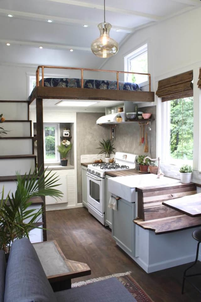 7 Brilliant Kitchen Storage Ideas to Steal from Real-Life Tiny Houses