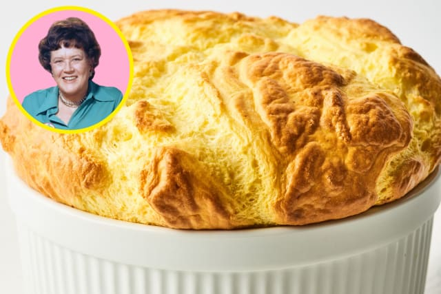 I Made Julia Child's Famous Cheese Soufflé (& Here's What I Thought) — Celebrity Recipe Review