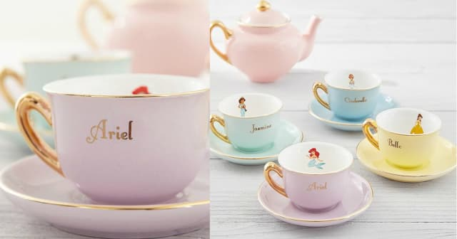 This Elegant Disney Tea Set Will Bring Out Your Inner Princess