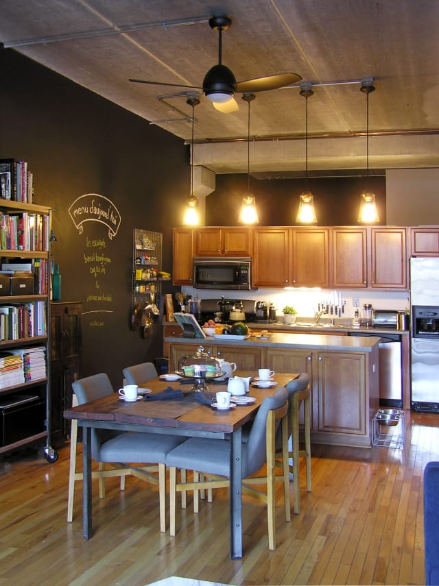 Sabreen Amp Terrence S Industrial Modern Loft Apartment