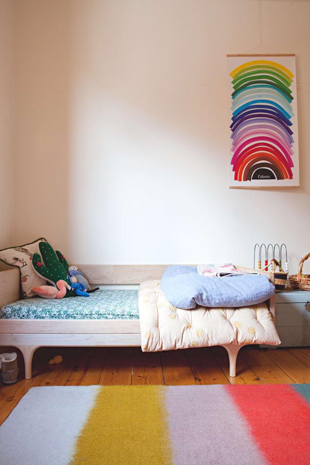 Rainbow Themed Bedroom
