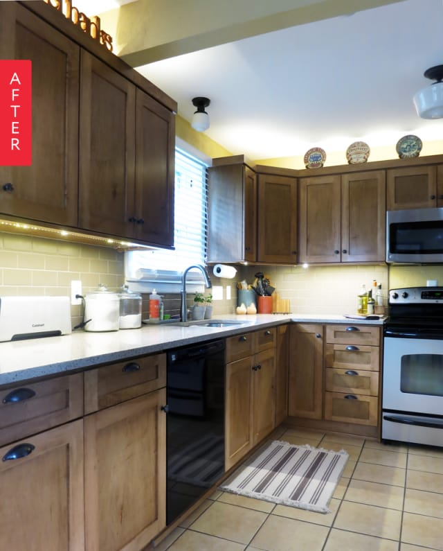 Kitchen Updates Before And After: Before & After: Updating 1950s Kitchen In A 1920s Bungalow