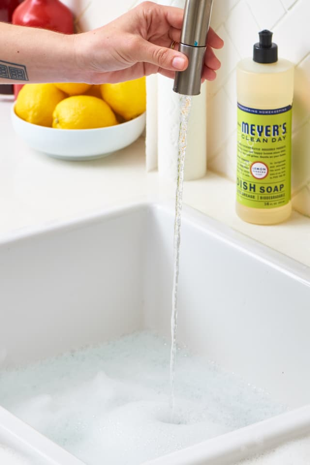 How To Clean Your Kitchen Sink Amp Disposal Apartment Therapy
