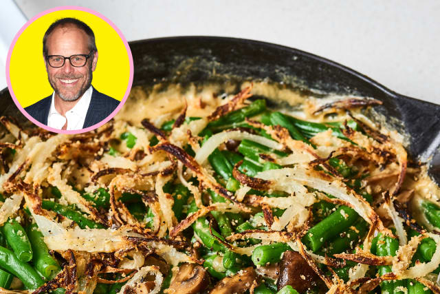 I Tried Alton Brown's Best Green Bean Casserole Ever — Celebrity Recipe Showdown