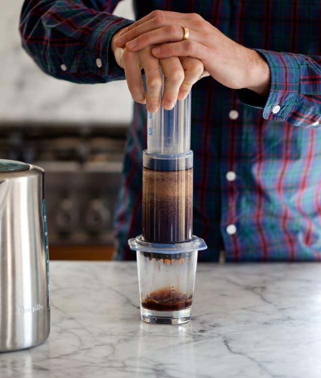 How To Make Aeropress Coffee Two Ways Kitchn