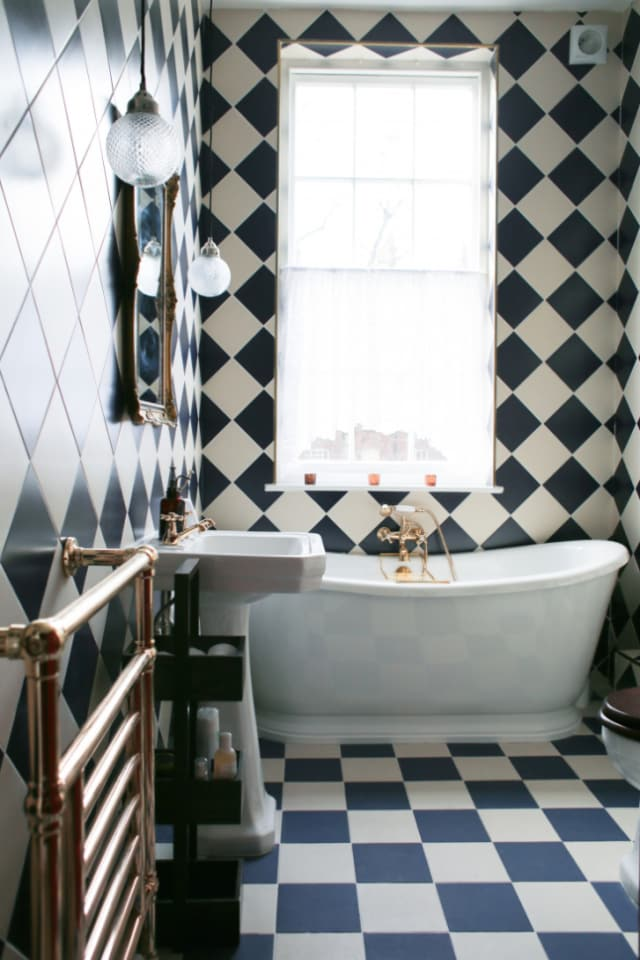 Bathrooms Where Tile Totally Steals The Show Apartment