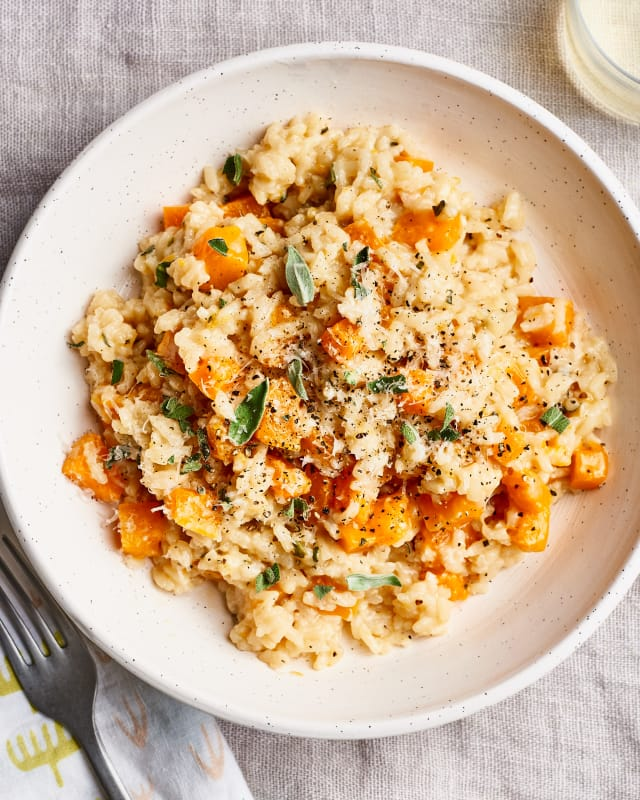 Recipe: Easy, Creamy Butternut Squash Risotto — Recipes from The Kitchn