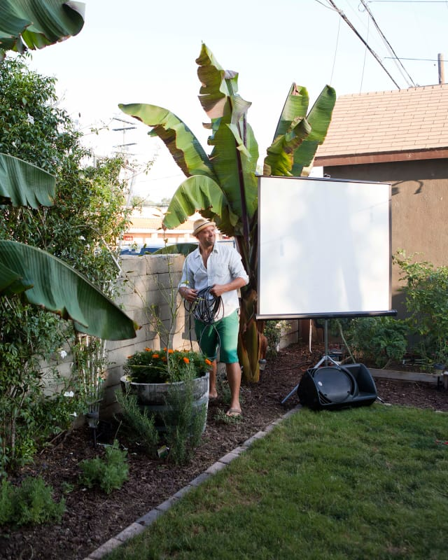 An Outdoor Movie Party Kitchn