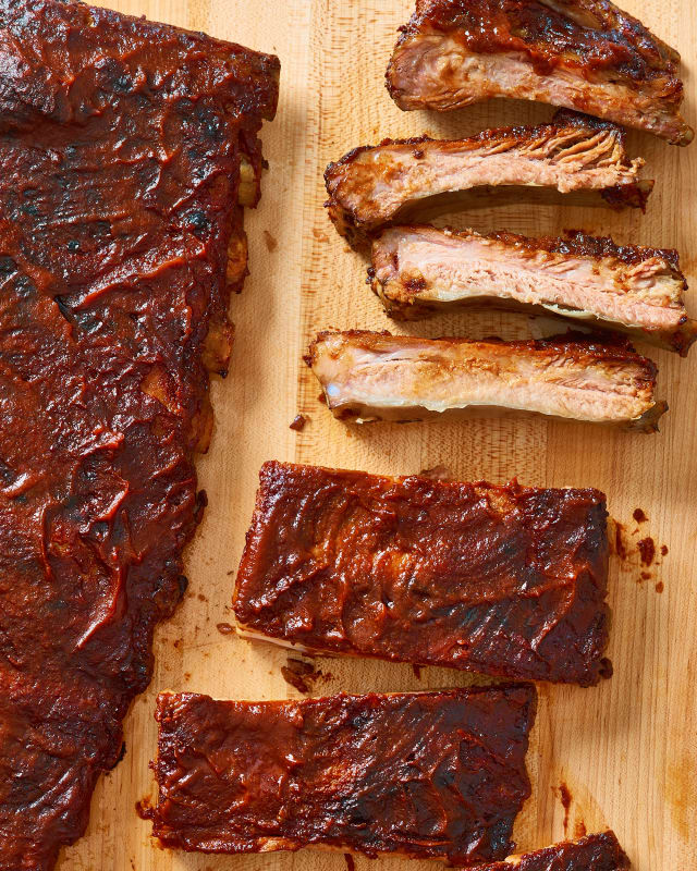 how long to slow cook pork ribs in oven
