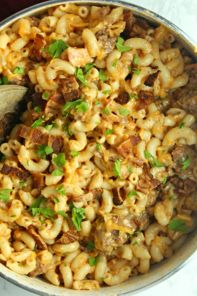 Bacon Cheeseburger Pasta Is the Perfect Comfort Food — Delicious Links