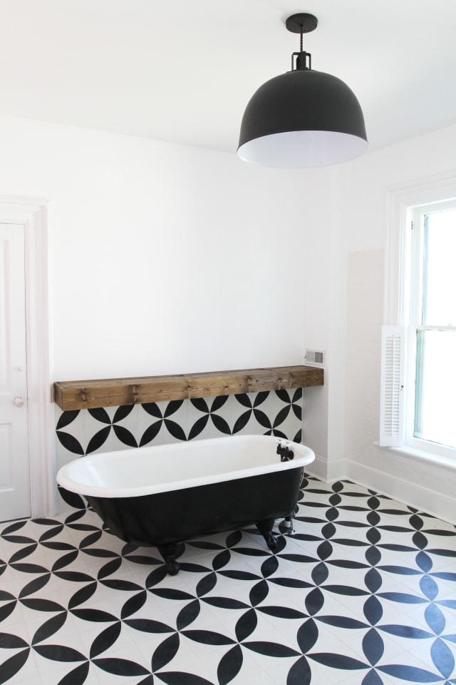 Remodel Reveal A Major Diy Bathroom Upgrade Apartment