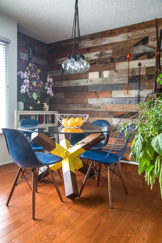 House Tour A Modern Organic Burbank Mix Apartment Therapy