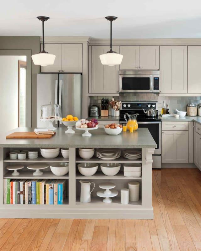Neutral Kitchen Cabinet Colors