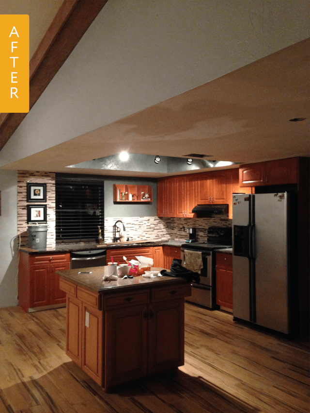Before & After: Goodbye, Crazy Cabinets! Hello, Dream ...
