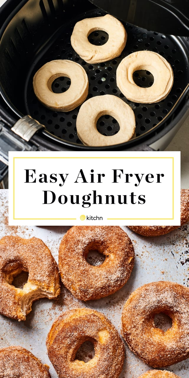 CAN YOU MAKE DONUTS IN AN AIR FRYER