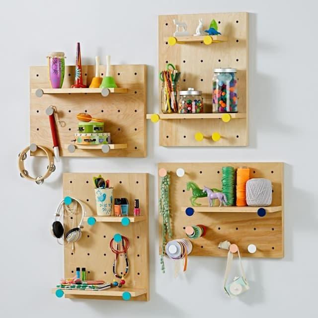 Modern Homes Peg: Modern Pegboard Storage Systems