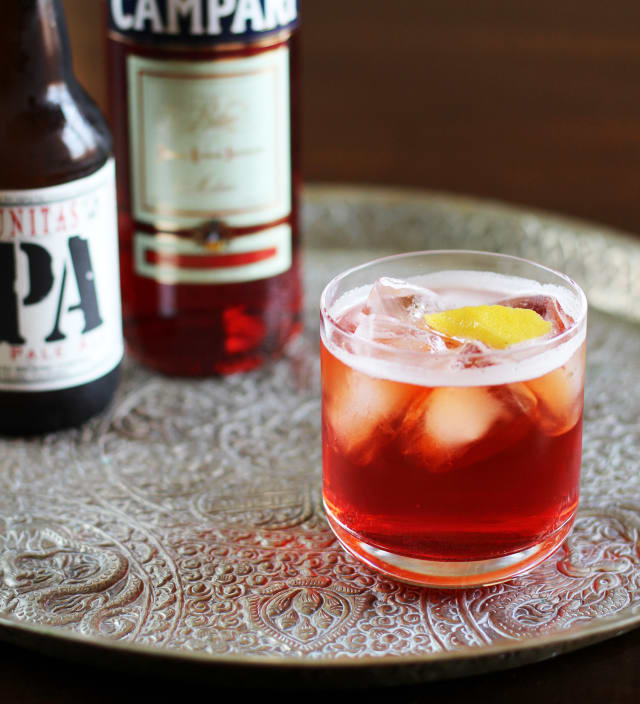 My Staple Summer Cocktail Recipe: Campari & IPA Spritzer