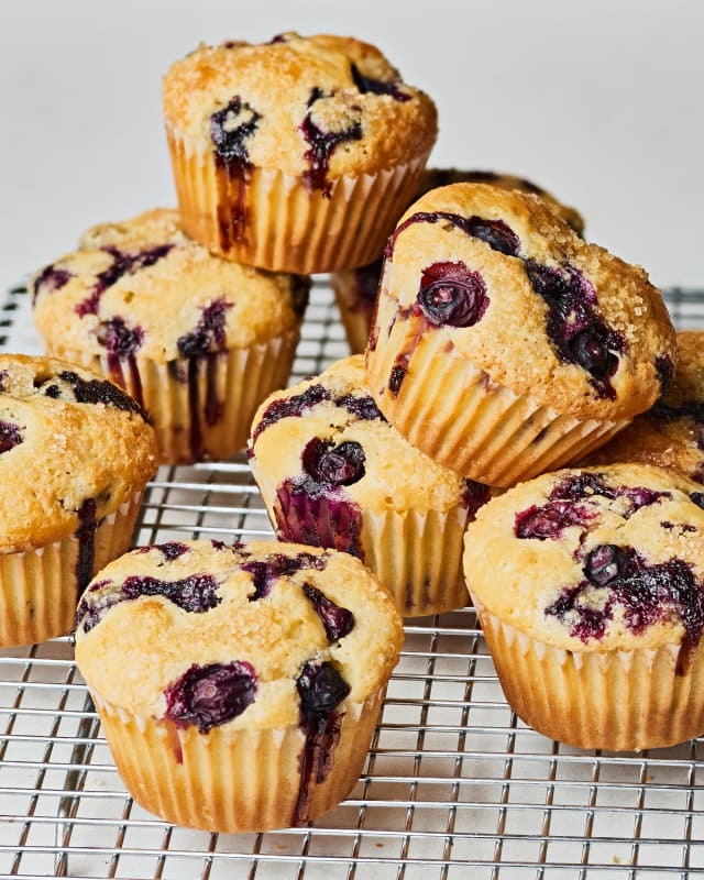 How To Make the Best, Easiest Blueberry Muffins — Cooking Lessons from The Kitchn