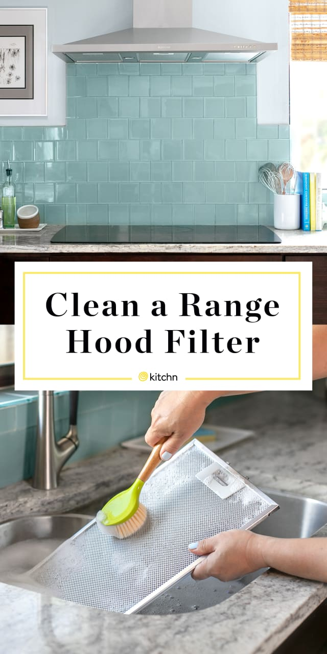 How To Clean a Greasy Range Hood Filter | Kitchn