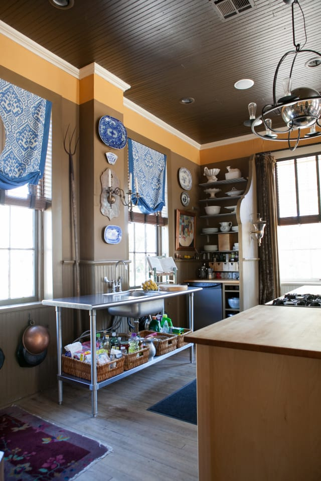 Firefighter Living Room Decor: David's Live/Work Kitchen In A Former Firehouse (Complete