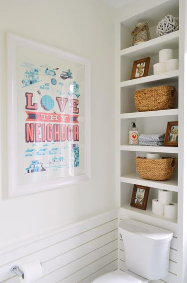 8 Ideas For What To Do With That Weird Space Above Your
