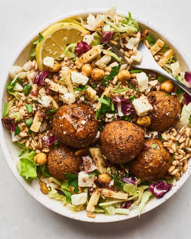 Recipe: Trader Joe's Mediterranean Falafel Salad — Recipes from The Kitchn