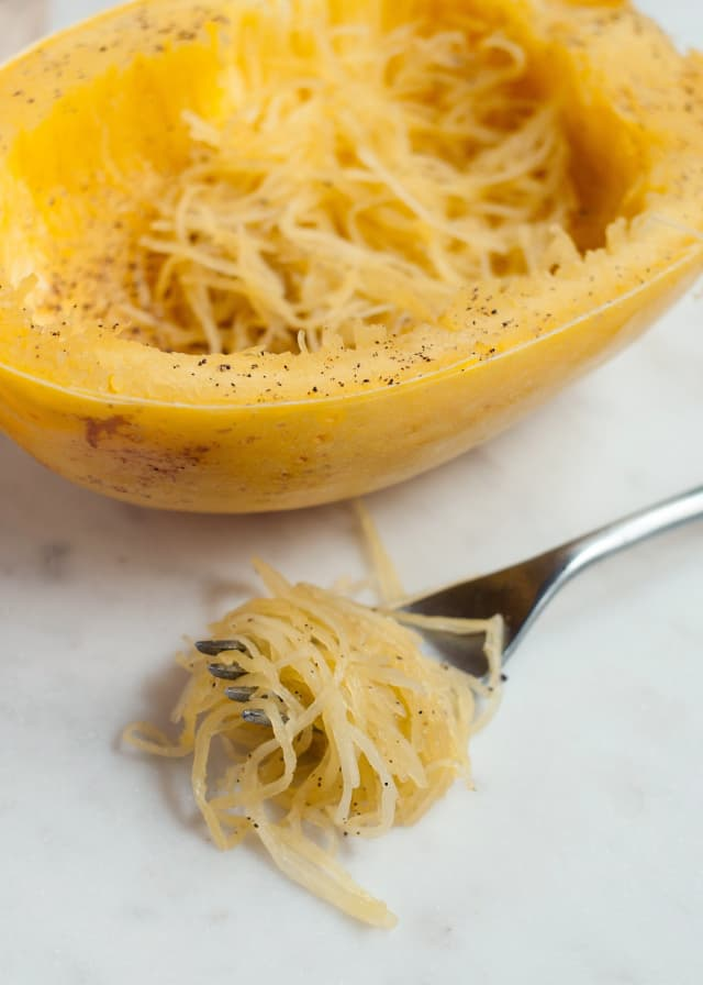 how to oven cook spaghetti squash