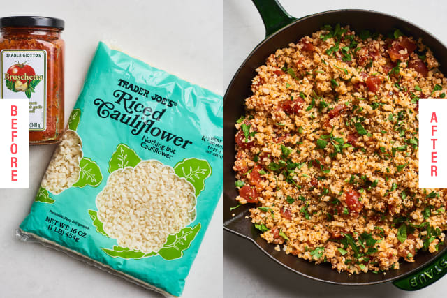The Easiest (and Tastiest) Ways to Upgrade Trader Joe's Cauliflower Rice — Snapshot Cooking