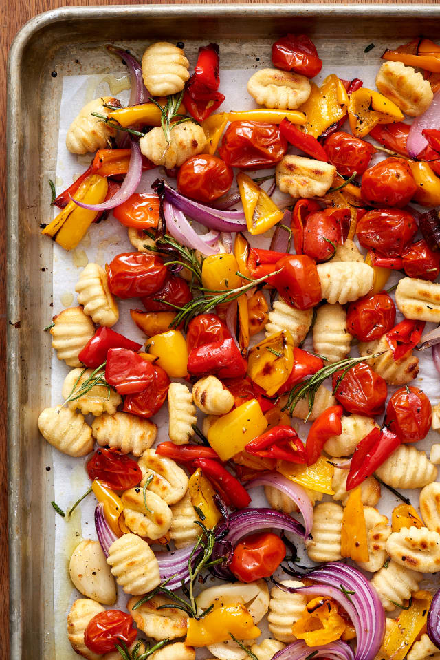 Recipe: Crispy Sheet Pan Gnocchi and Veggies — Quick and Easy Vegetarian Dinners