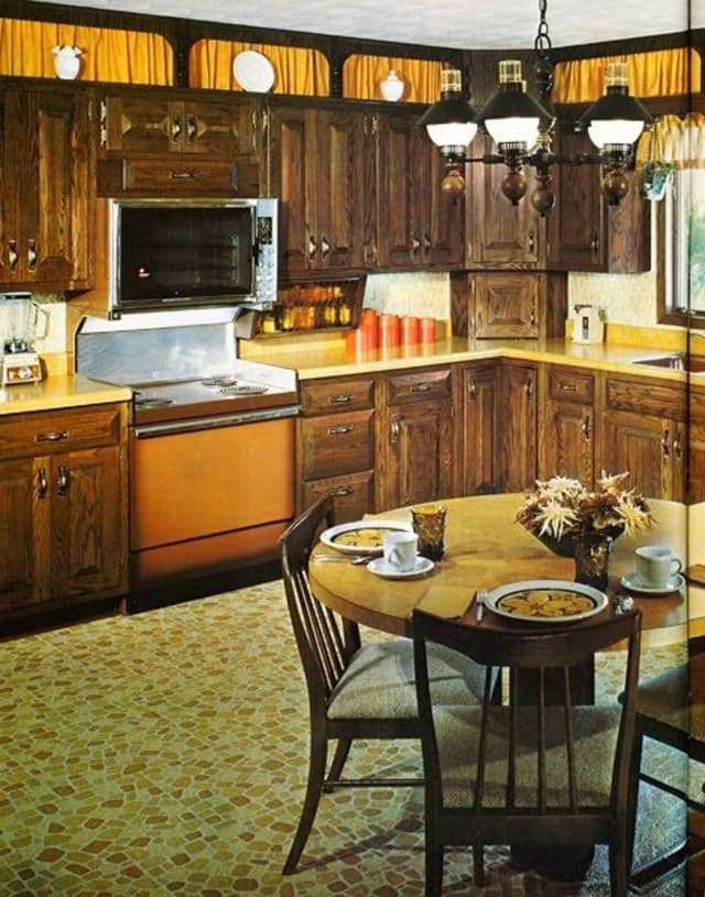 A brief history of 1970s kitchen design apartment therapy for Kitchen design brief example