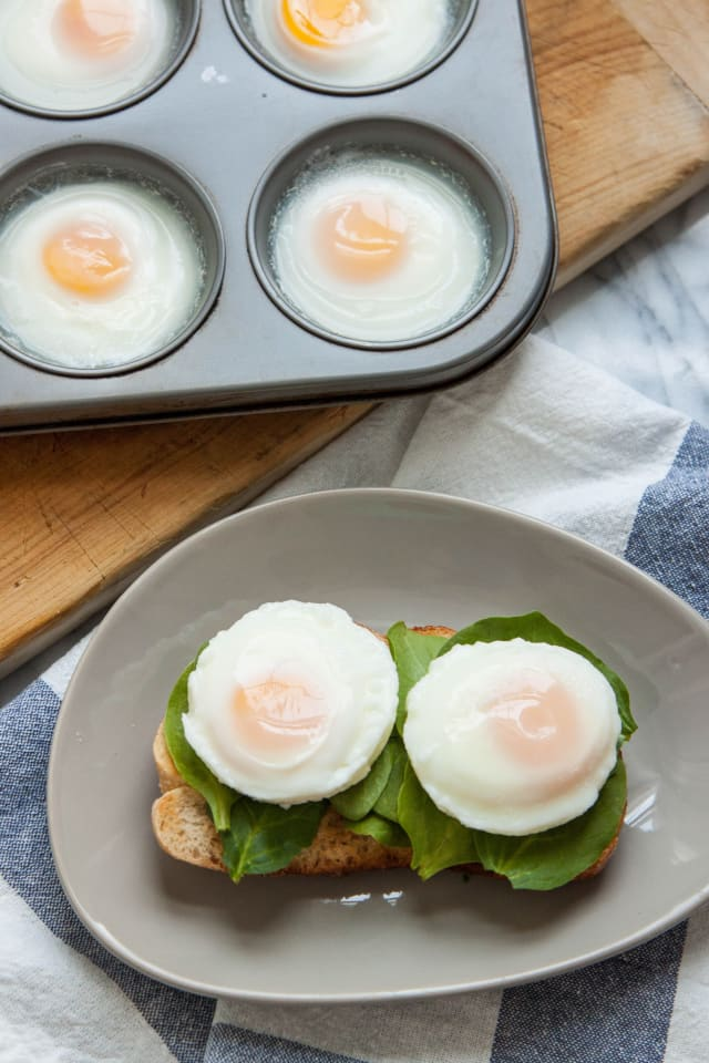how to make poached eggs in oven