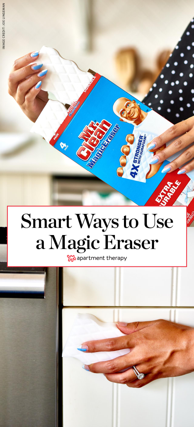 15 smart ways to use a magic eraser apartment therapy. Black Bedroom Furniture Sets. Home Design Ideas