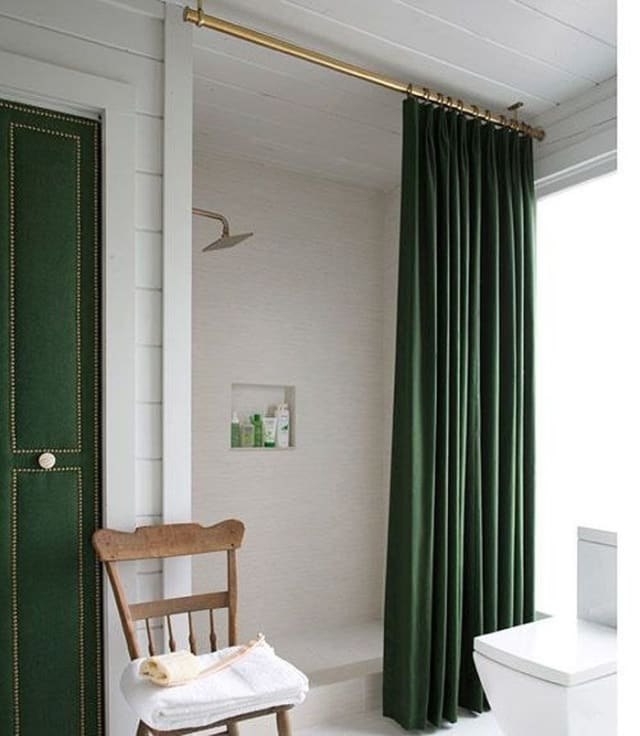 Apartment Guide App: Clever Ways To Use Curtain Hardware That Have Nothing To
