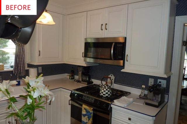 Before and After: This Remodel Cleverly Updates Old White ...